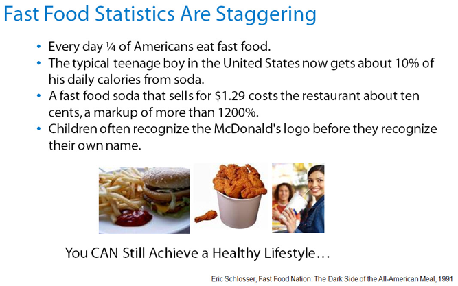 yatyalan: fast food statistics